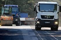 Oprava silnice z Plzně na Záluží