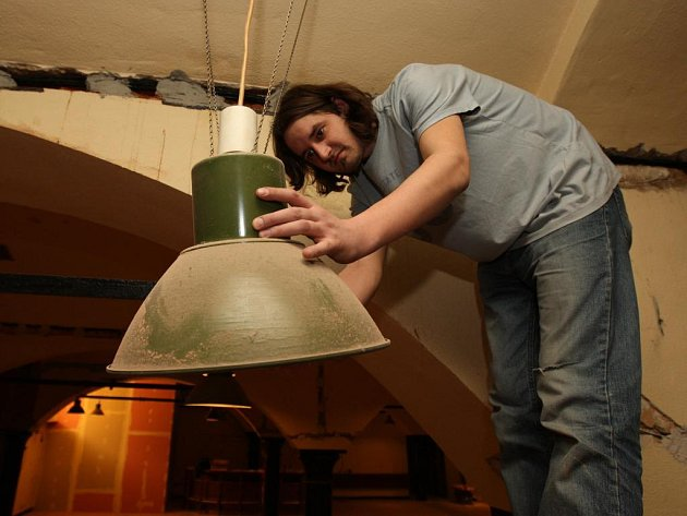 Na rekonstrukci se podílí také Zdeněk Klas z pivovaru