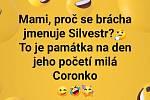 Vtipy na téma koronavirus na sociálních sítích.