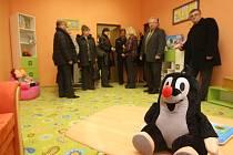 Nová výslechová místnost pro děti v areálu FN Plzeň na Borech