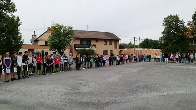 Zahájení školního roku v Kozojedech
