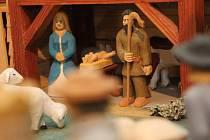 Výstava Betlémy Zdeňka Manna v Domě historie Přešticka