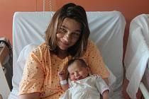 Michaela Kolářová z Nýřan (3500 gramů, 50 cm) se narodila v klatovské porodnici 30. srpna v 11.20 hodin. Rodiče Vlasta Silva a Pavel věděli dopředu, že jejich prvorozené miminko bude holčička