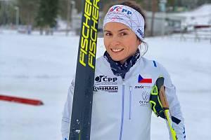 Kateřina Razýmová se při přesunu ze Švédskana Vysočinu zastavila doma u Plzně.