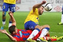 Utkání 12. kola první fotbalové ligy: FK Teplice - Viktoria Plzeň hrané 27. října v Teplicích