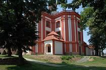 Východní kaple v Mariánské Týnici