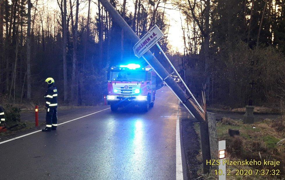 Ze zásahu hasičů