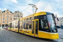 V Plni byla uvedena do provozu nová tramvaj Škoda 40T.