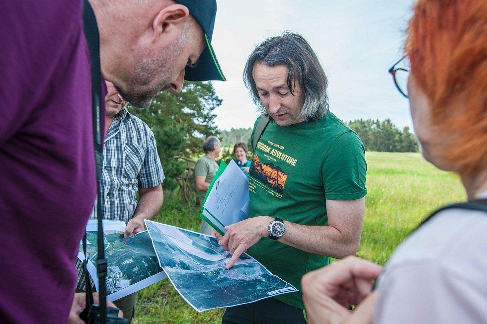 Nedaleko dálnice D5 vznikla nová přírodní rezervace Janovský mokřad.