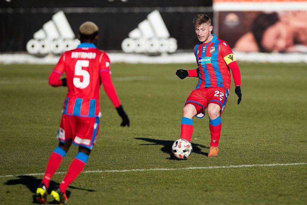 Jakub Brabec při domácím zápase s Libercem.