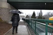 Občanům Doubravky slouží už několik dní zmodernizovaný podchod železniční tratě v ulici Potoční.