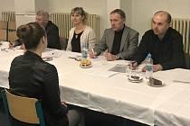 Fiktivní přijímací pohovor do firmy na Střední průmyslové škole dopravní v Plzni