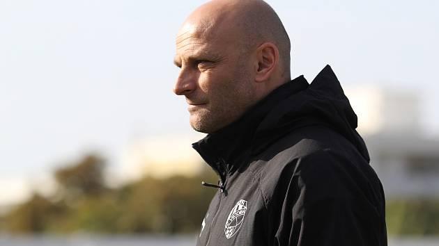 Slovenský kouč plzeňských fotbalistů Adrián Guľa při poslední přípravě s ruským Krasnodarem.