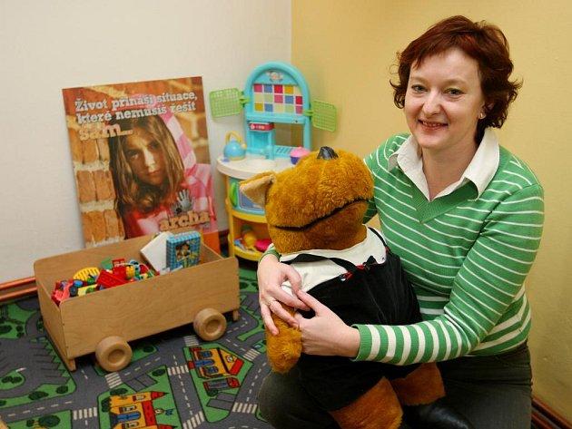 Lucie Petříčková z krizového centra SOS Archa