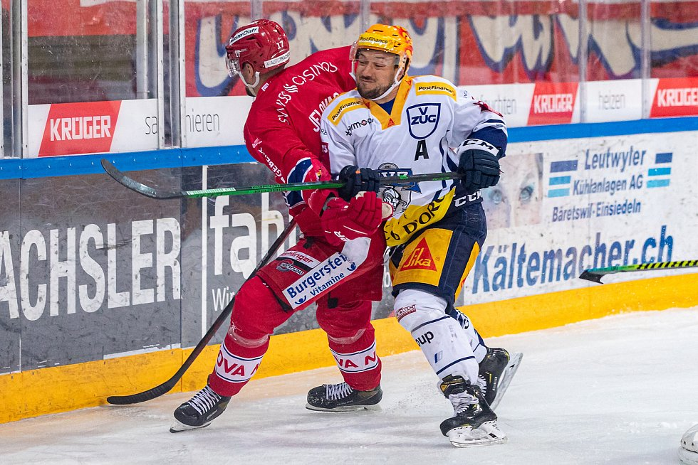Jan Kovář (vpravo) dokáže ve hře uplatnit svou šikovnost, ale i důraz.