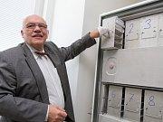 Fakultní nemocnice v Plzni má nově biobanku. Na snímku primář oddělení imunochemické diagnostiky Ondřej Topolčan