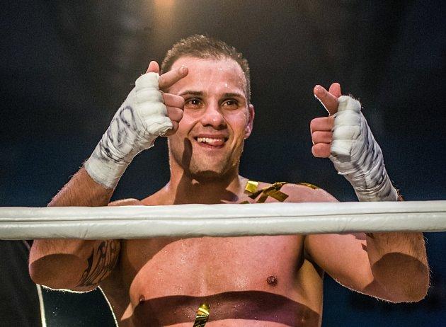 Štěpán Horváth, profesionální mistr Evropy WBO.