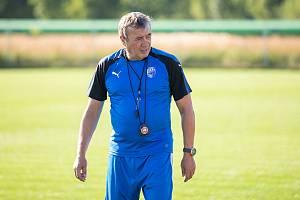 Eduard Kubata v době, kdy trénoval ženy Viktorie Plzeň.