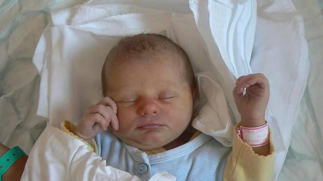 Prvorozená dcera Adélka (3,23 kg, 48 cm) se narodila Lucii Jakešové a Františku Řehákovi 26. 6. v 7.54 hod. ve FN v Plzni