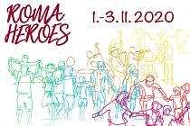 Plakát k festivalu romského divadla Roma Heroes