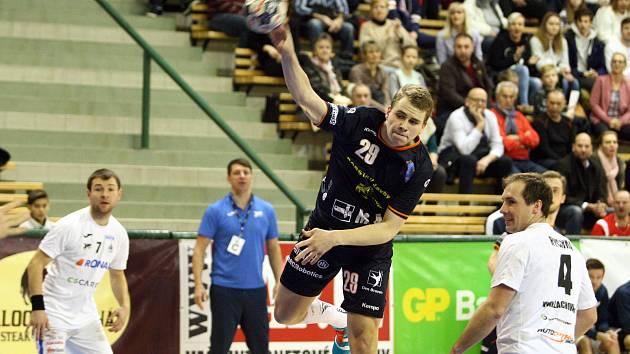 Talent Plzeň v nedělním utkání vyhrál nad Jičínem 23:22.