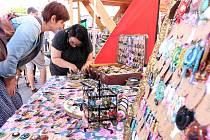 Market na ulici - prodejci s vlastní výrobou a designem