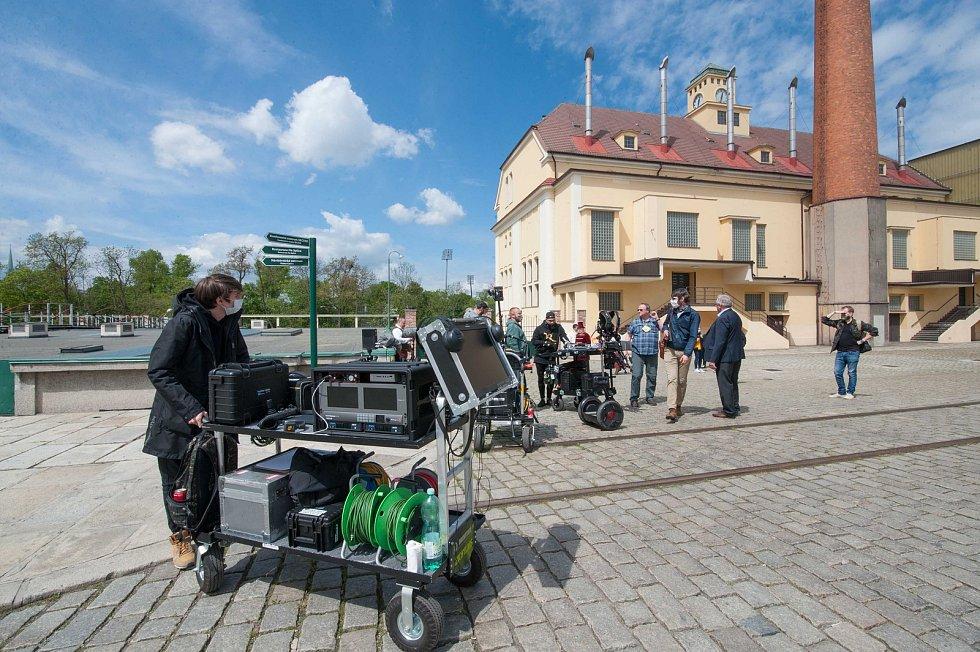 Plzeň, pivovar, Národní divadlo, natáčení