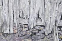 Jedním ze čtyř děl, ketré rozšíří Artotéku města Plzně je akryl na plátně Heleny Vendové s názvem Oživení minulosti.