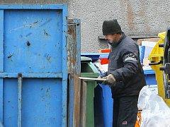 Velkoobjemový kontejner. Ilustrační fotografie.