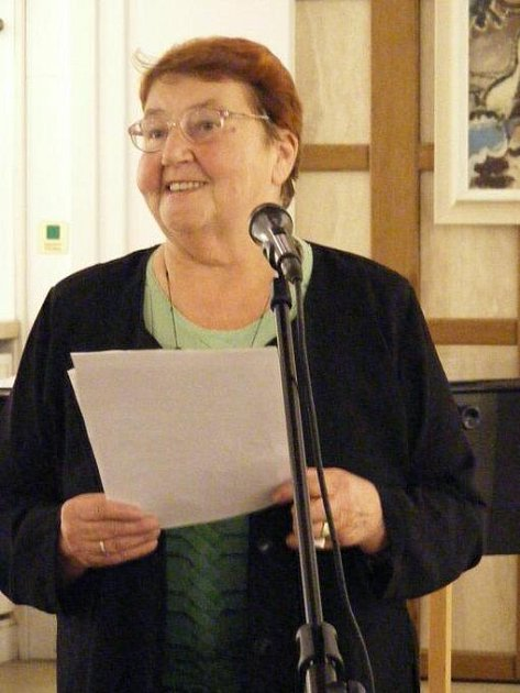 Karla Erbová křtí svou knihu Potomci neslavných.