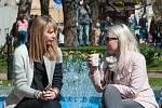 Plzeňany láká sluníčko do parků i na zmrzlinu