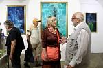 Třiadvacet obrazů Vladimíra Havlice je k vidění v Galerii Jiřího Trnky na náměstí Republiky v Plzni.