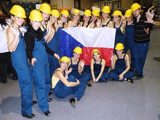 Plzeňská skupina Four Taps reprezentovala Českou republiku na mistrovství světa ve stepu, které se konalo v Německu