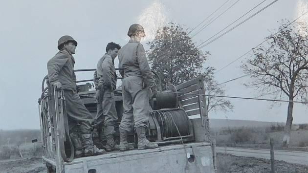 56th Signal Battalion při práci.
