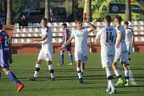 Aleš Čermák (s číslem 25) vstřelil v utkání proti FC Basilej vítězný gól.