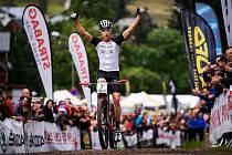 Biker Ondřej Cink letos vyhrál mistrovství ČR v cross country i v maratonu.