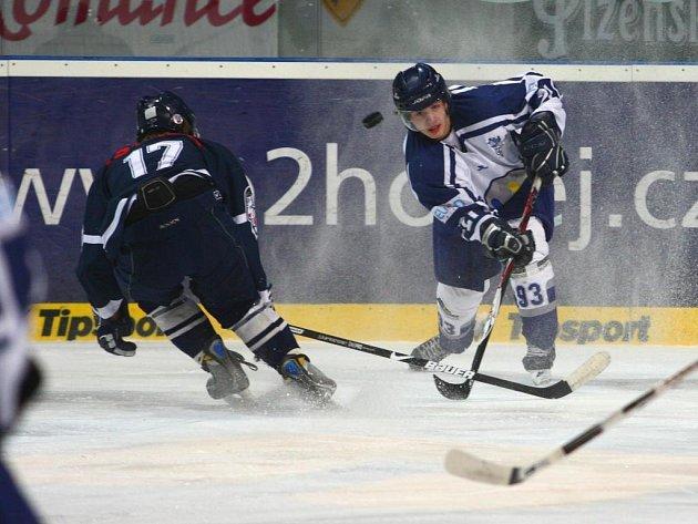 Hokejoví junioři plzeňského Lasselsbergeru v pátek prohráli s Libercem 4:5