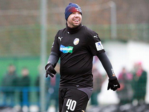 Pavel Horváth si i na nezvyklém postu stopera zápas se Sokolem Puklice užíval stejně dobře jako ostatní aktéři utkání na hřišti v Luční ulici včetně více než půl tisícovky diváků.