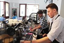Otevření univerzitní kavárny Družba v Plzni.