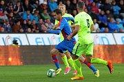 Hráči Viktorky porazili v neděli doma 3:0 Zbrojovku Brno.