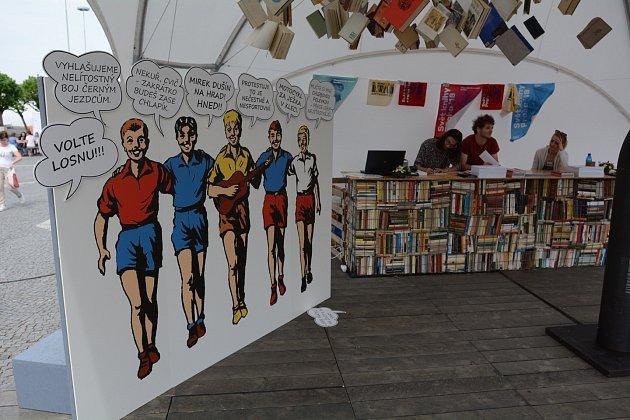 Návštěvníci veletrhu Svět knihy uvidí v DEPO2015 i výstavu věnovanou slavnému chlapeckému klubu Rychlé šípy.