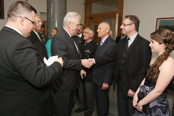 Prezident Miloš Zeman vPlzni