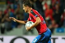 Aleš Matějů vstřelil druhý gól Viktorie.