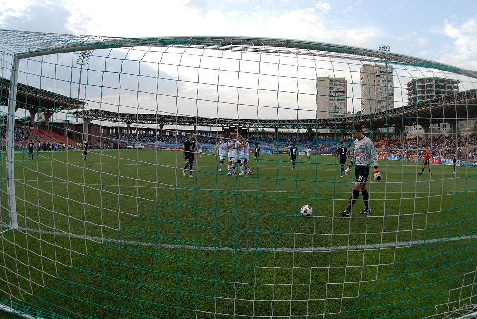 Před deseti lety povzbuzovala plzeňské fotbalisty v Jerevanu jen hrstka fanoušků.