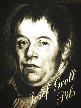 Josef Groll byl sládkem, který před 172lety uvařil první várku piva Pilsner Urquell