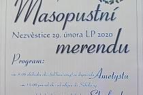 Masopustní merenda v Nezvěsticích.