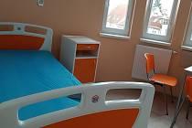 Nové pokoje v Mulačově nemocnici.