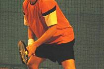 Ve středu se vinou zranění rozloučil s turnajem v Plzni jeden z favoritů na zisk domácího halového titulu Tomáš Zíb
