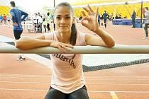 Atletka Tereza Petržilková.
