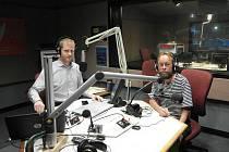 Šnek jako host v rádiu SBS